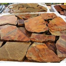 Песчаник бежево-коричневый плитняк